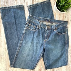 J. CREW Straight Leg Jeans Women's T4 4 Tall EUC